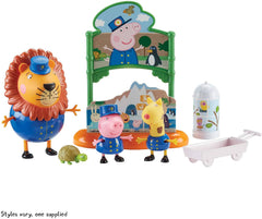 Peppa Pig Day At the Zoo Leo The Lion Set - TOYBOX Toy Shop