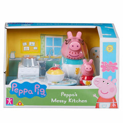 Peppa Pig - Peppa's Messy Kitchen Playset - TOYBOX Toy Shop