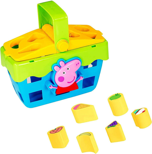 Peppa Pig Shape Sorter Toy Picnic Set - TOYBOX Toy Shop