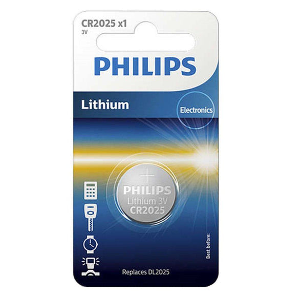 Philips Lithium 3V Button Cell Battery CR2025 - TOYBOX Cyprus