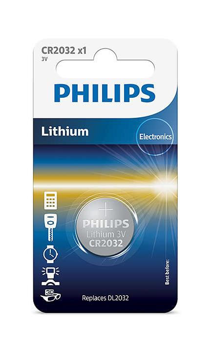Philips Lithium 3V Button Cell Battery CR2032 - TOYBOX Cyprus