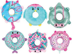 PIKMI POPS  DOUGHMIS - Sweet Scented Donut Plush with Squishy Jelly Centre - TOYBOX Toy Shop