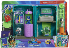 PJ MASKS JPL95705 Flair Night-Time Micros Romeo's Lair Playset - TOYBOX Toy Shop