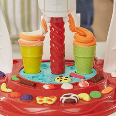 Play-Doh Kitchen Creations Ultimate Swirl Ice Cream Maker Play Food Set with 8 Non-Toxic Colours - TOYBOX Cyprus