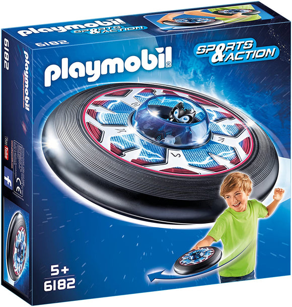PLAYMOBIL 6182 Sports & Action Celestial Flying Disk with Alien - TOYBOX Toy Shop