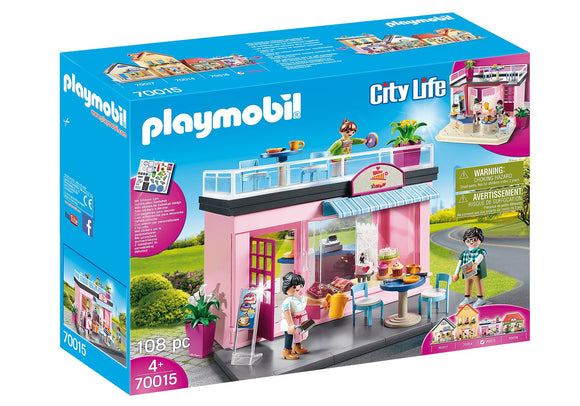 Playmobil 70015 My Café Playset - TOYBOX Toy Shop