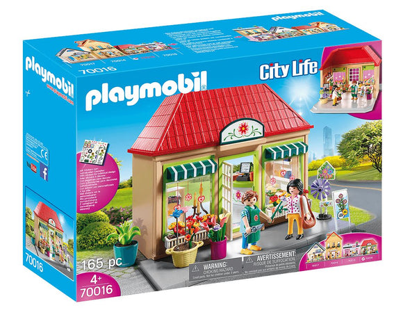 Playmobil 70016 My Flower Shop Playset - TOYBOX Toy Shop