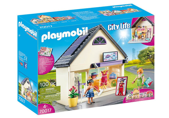 Playmobil 70017 My Pretty Play-Fashion Boutique Playset - TOYBOX Toy Shop