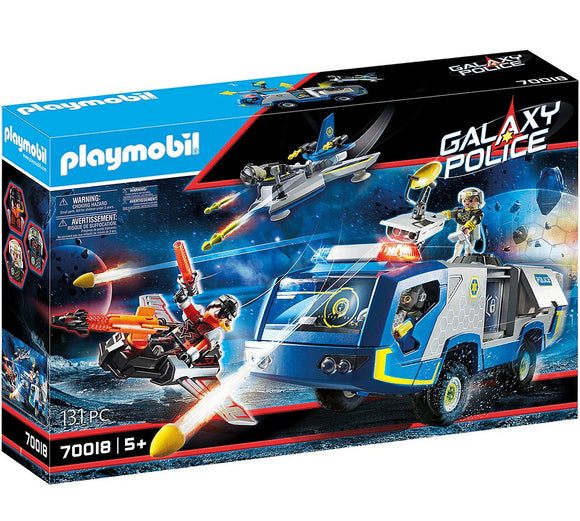 Playmobil 70018 Galaxy Police Truck - TOYBOX Toy Shop