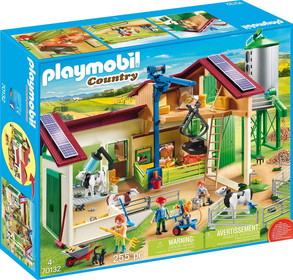 Playmobil 70132 Farm with Animals Playset - TOYBOX Toy Shop
