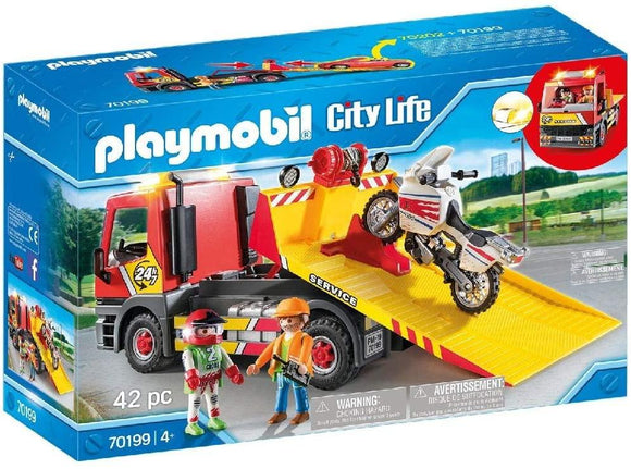 Playmobil 70199 City Life Vehicle World Breakdown Service Playset - TOYBOX Toy Shop