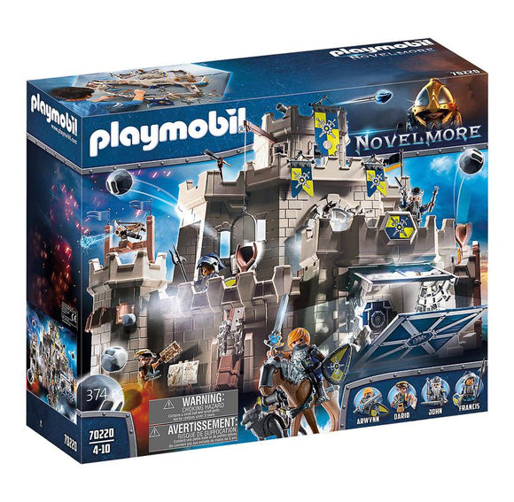 Playmobil 70220 Knights Grand Castle of Novelmore Playset - TOYBOX Toy Shop
