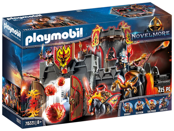 Playmobil 70221 Knights of Novelmore Burnham Raiders Castle Fortress - TOYBOX Toy Shop
