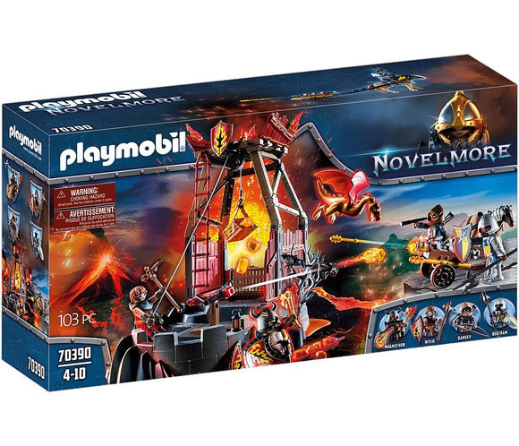 Playmobil 70390 Burnham Raiders Lava Mine Playset - TOYBOX Toy Shop