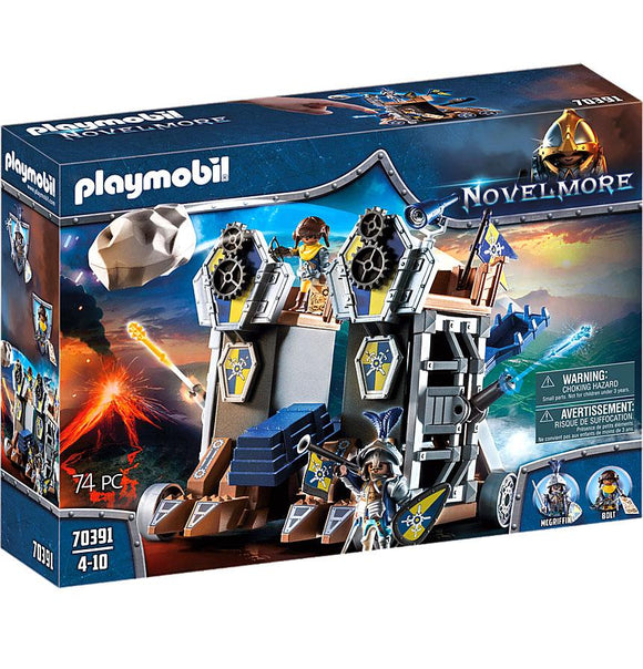 Playmobil 70391 Novelmore Mobile Fortress Playset - TOYBOX Toy Shop