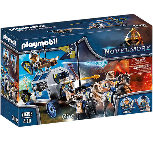 Playmobil 70392 Novelmore Treasure Transport Playset - TOYBOX Toy Shop