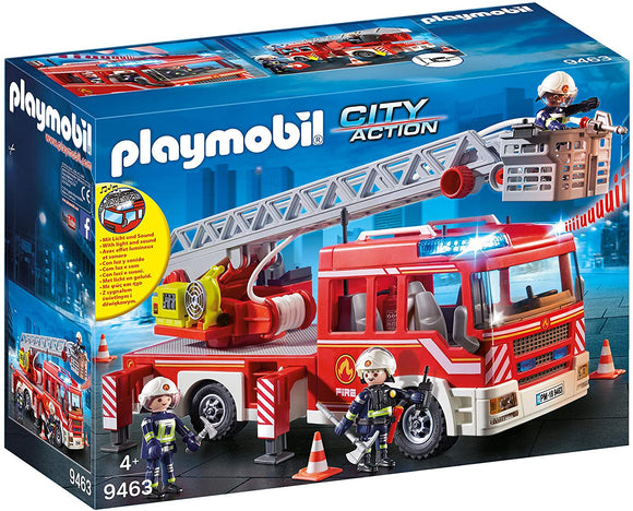 Playmobil 9463 Fire Ladder Unit Playset - TOYBOX Toy Shop