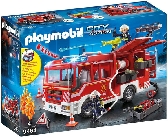 Playmobil 9464 Fire Engine Playset - TOYBOX Toy Shop