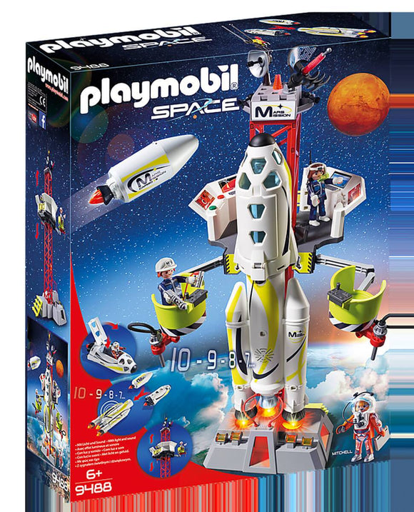 Playmobil 9488 Mission Rocket with Launch Site - TOYBOX Toy Shop