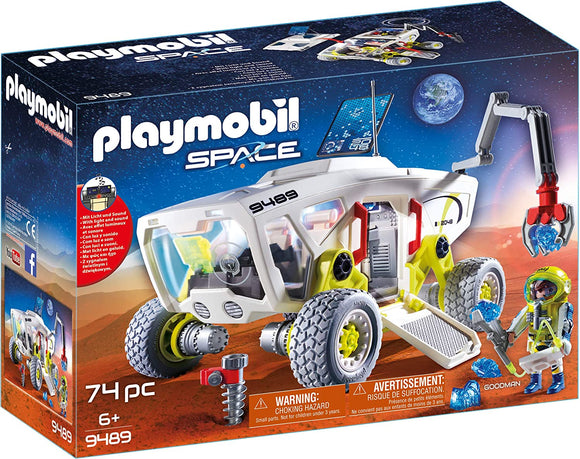 Playmobil 9489 Mars Research Vehicle - TOYBOX Toy Shop