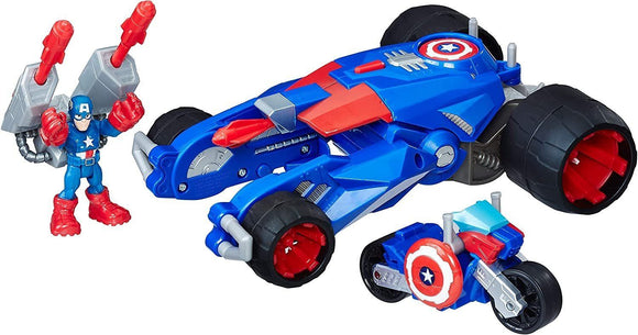 Playskool E0156 Sha Captain America Tank Marvel Figures and Playset - TOYBOX Toy Shop