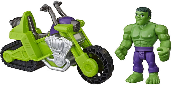 Playskool E7930 Marvel Super Hero Adventures Hulk Smash Tank - TOYBOX Toy Shop