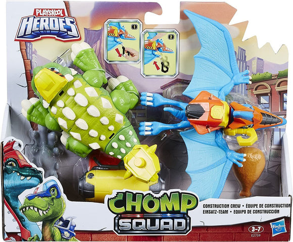 Playskool Heroes Chomp Squad Construction Crew - TOYBOX Toy Shop