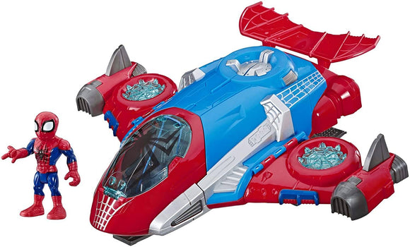 Playskool Heroes Marvel Spider-Man Jetquarters - TOYBOX Toy Shop