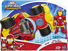 Playskool Heroes Marvel Super Hero Adventures Iron Man Speedster - TOYBOX Toy Shop
