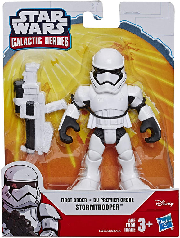 Playskool Heroes Star Wars Galactic Heroes 5-Inch First Order Stormtrooper Action Figure - TOYBOX Toy Shop