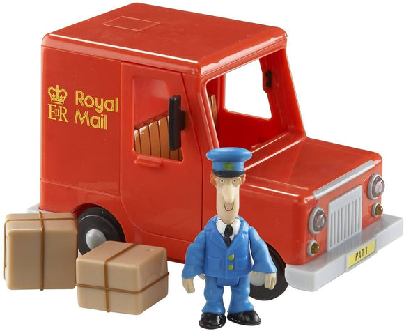 Postman Pat Classic Vehicle And Accessory Set - Pats Royal Mail Van - TOYBOX Toy Shop