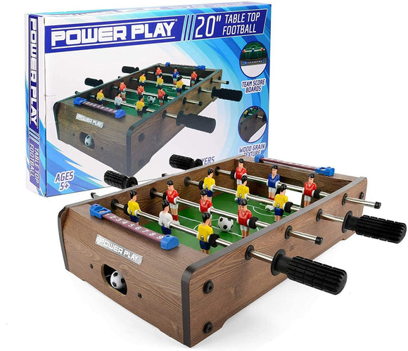 Power Play Table-Top Football Game, 20 Inch - TOYBOX Cyprus
