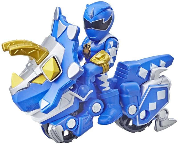 Power Rangers Playskool Heroes 2-Pack Figurines Blue Ranger and Raptor Cycle2-Pack - TOYBOX Toy Shop