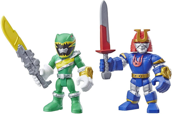 Power Rangers Playskool Heroes Figurines Green Ranger and Ninjor 2-pack - TOYBOX Toy Shop