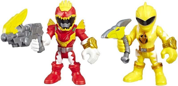 Power Rangers Playskool Heroes Figurines Red Ranger & Yellow Ranger 2-Pack - TOYBOX Toy Shop