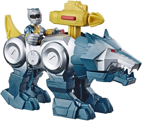 Power Rangers Playskool Heroes Silver Ranger & Wolf Zord 2-Pack - TOYBOX Toy Shop