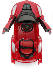 RICCO Genuine Official Licensed La Ferrari FXXK 12V Electric Ride-On Car with 2-Motors & Remote Control - TOYBOX Toy Shop