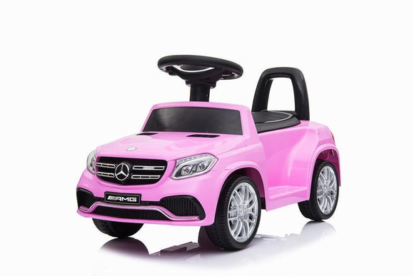 RICCO HL600 Mercedes Benz GLS63 Licensed Kids Electric Foot to Floor Ride on Car Pink - TOYBOX Toy Shop