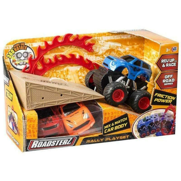 Roadsterz 1374283 Friction Power Rally Playsets - TOYBOX Toy Shop
