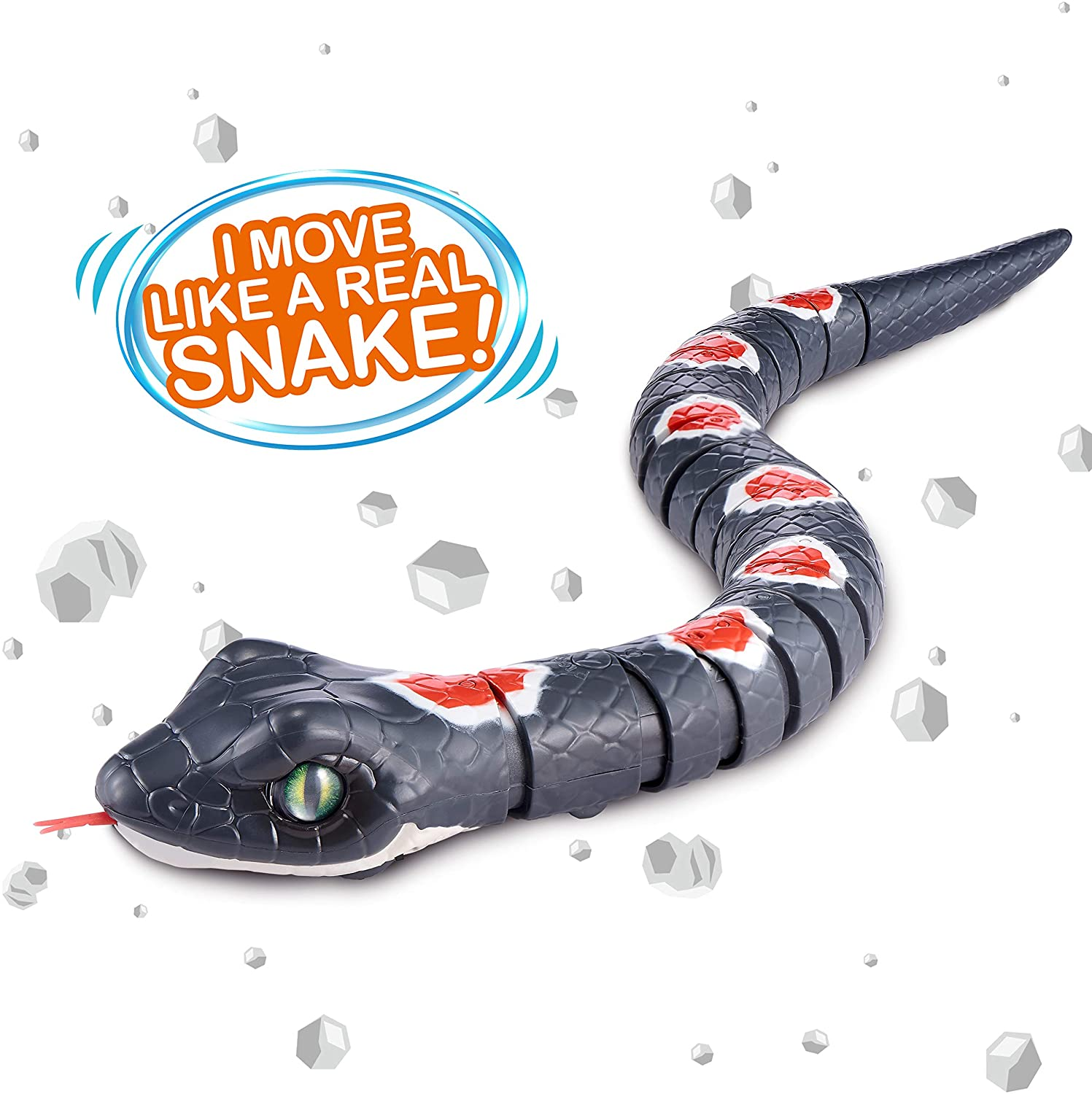 ROBO ALIVE Robo Alive Slithering Snake - TOYBOX Cyprus