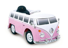 ROLLPLAY Germany Premium Electric Car, With Remote Control, VW BUS TYPE 2 (T1) - TOYBOX Cyprus