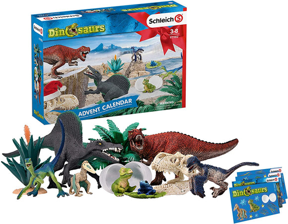 Schleich 97982 North America Dinosaurs Advent Calendar Playset Schleich