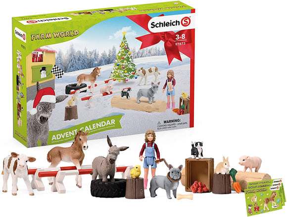 Schleich Farm World Advent Calendar 2020 - TOYBOX Cyprus