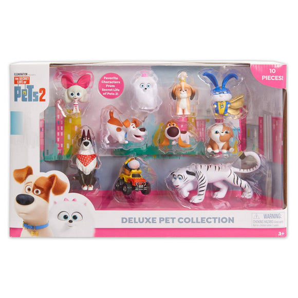 Secret Life of Pets 2 79560 Deluxe Pet Collection - TOYBOX Toy Shop