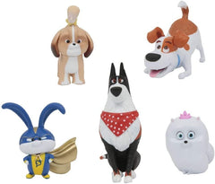 Secret Life of Pets 2 Blister Pack of 5 Jointed Figures - TOYBOX Toy Shop