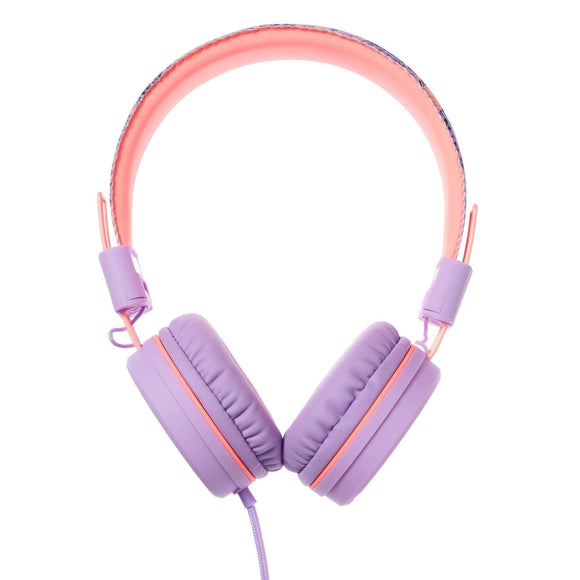 Smiggle 412228 Flow Flex Headphones, Colour Lilac - TOYBOX Toy Shop