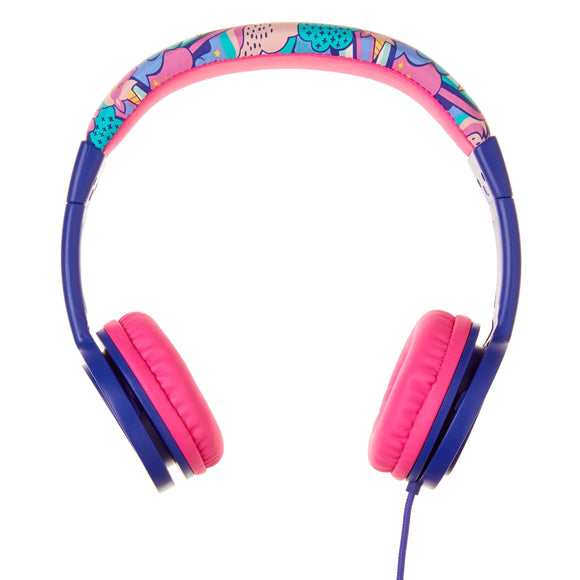 Smiggle 412372 Cheer My First Junior Headphones Colour Purple/Pink - TOYBOX Toy Shop