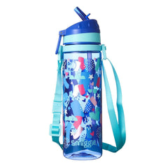 Smiggle Dizzy Strap Drinking Bottle, Blue/Aqua - TOYBOX Toy Shop