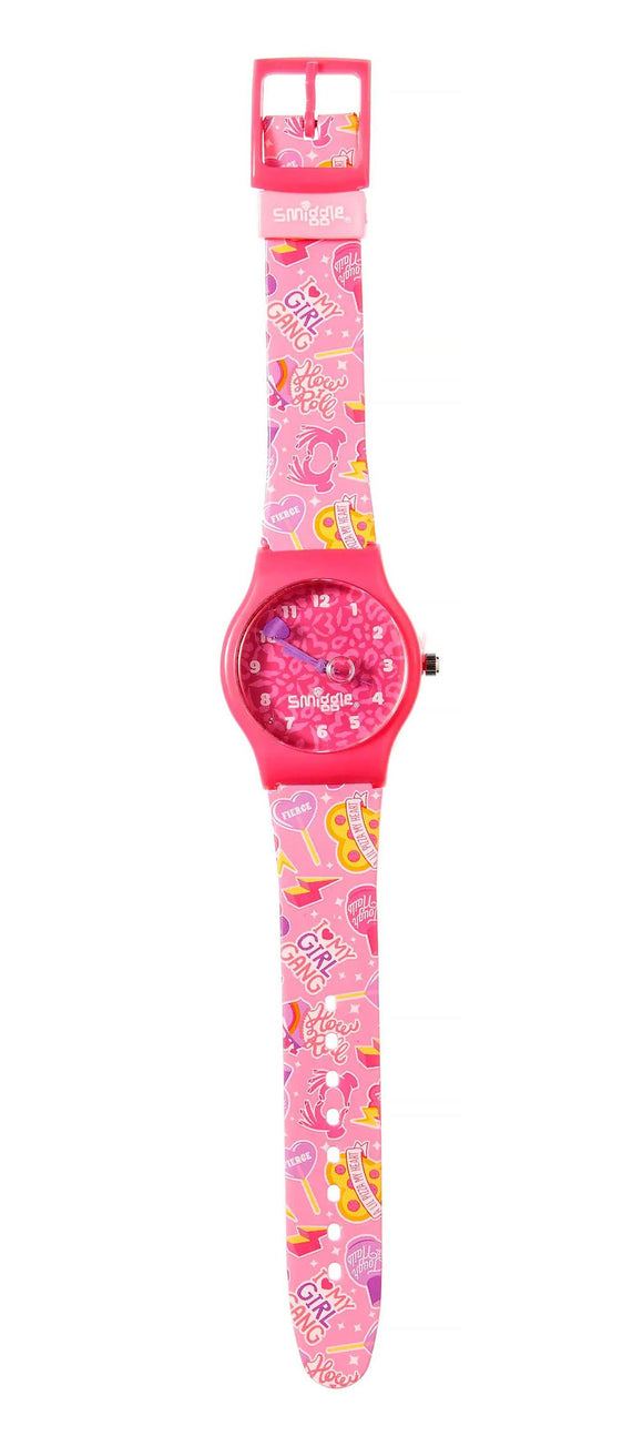 Smiggle H20 Clock Watch - Pink Electronics SMIGGLE