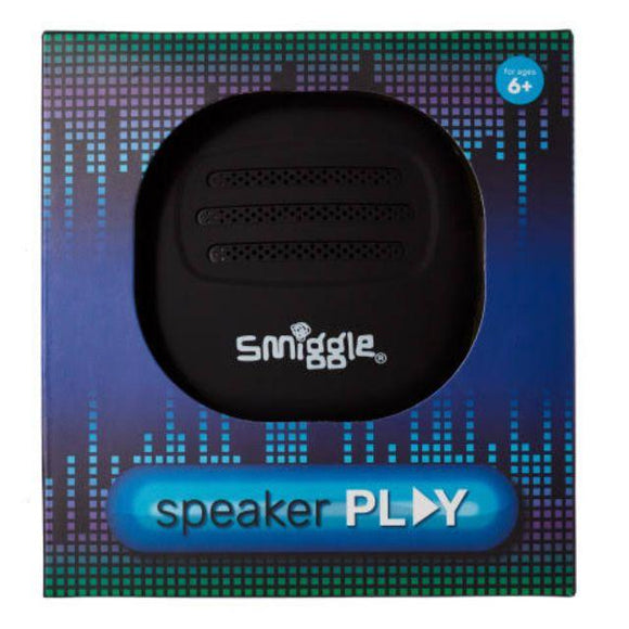 Smiggle Play Bluetooth Speaker - Black Electronics SMIGGLE